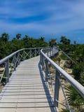 Road to paradise stock photos