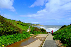 Cayton Bay, Yorkshire. Royalty Free Stock Photography