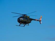Cayuse del U.S.A.F. Hughes OH-6 Imagenes de archivo
