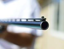 Caza de la escopeta del arma Foto de archivo