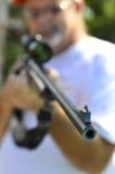 Caza de la escopeta del arma Imagenes de archivo