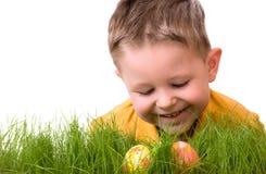 Caza del huevo de Pascua Imagen de archivo libre de regalías