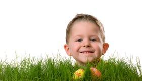 Caza del huevo de Pascua Imagenes de archivo