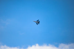 Caza a reacción SU-30 foto de archivo