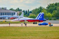 Caza a reacción SU-30 fotos de archivo libres de regalías