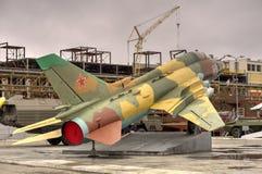 Cazabombardero ruso Su-17 Foto de archivo libre de regalías