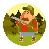 cazador Imagen de archivo libre de regalías