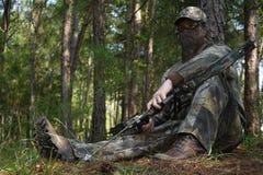 Cazador - caza Foto de archivo libre de regalías