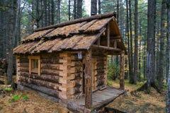 Cazador de casa de madera Foto de archivo libre de regalías