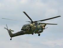 Cazador de la noche Mi-28 Foto de archivo