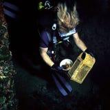 Cazador de tesoro Fotografía de archivo