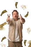 Cazador del dinero Imagenes de archivo
