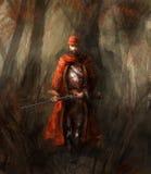 Cazador en el bosque Imagen de archivo
