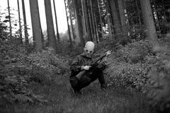 Cazador extranjero Fotos de archivo