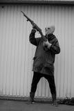 Cazador extranjero Foto de archivo libre de regalías