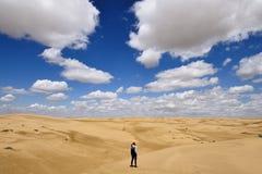 Cazaquist?o, Paisagens do deserto, província de Mangystau imagens de stock royalty free