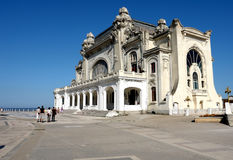 The cazino in Constanta. Stock Photos