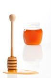 Cazo de la miel Foto de archivo libre de regalías