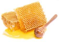Cazo del panal y de la miel Imagen de alta calidad Imagen de archivo libre de regalías