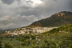 Cazorla by Jaen Andalusia Spanien arkivbilder