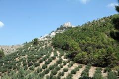 Cazorla and Segura mountain range,Jaen Royalty Free Stock Photo