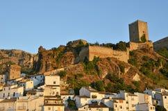 Cazorla slott arkivbilder