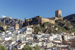 Cazorla village in Andalucia. Spain. View of Cazorla village in Andalucia. Spain Royalty Free Stock Photography