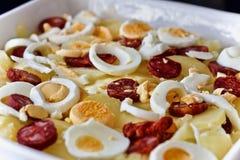Cazuela de la patata Imagen de archivo libre de regalías