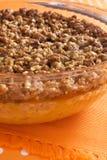 Cazuela de la patata dulce del día de fiesta Imagen de archivo libre de regalías