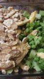 Cazuela del bróculi y del queso Fotos de archivo