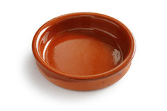 Cazuela, spanish earthenware casserole Royalty Free Stock Photos