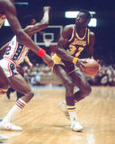 Cazzie Russell, Los Angeles Lakers Stockbild