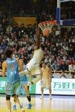 Basketball CBA Jeremy pargo. CBA LEAGUES guangsha Royalty Free Stock Photography