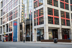 CBC Building Downtown Toronto Stock Photos