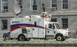 CBC Television transmission vehicle Stock Photos