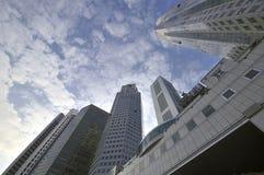 cbd新加坡 免版税库存照片
