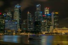 cbd新加坡 库存照片