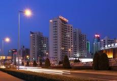 Πεκίνο αστικό, Κίνα Στοκ εικόνα με δικαίωμα ελεύθερης χρήσης