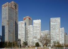 在大厦cbd高层附近 免版税图库摄影