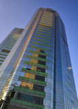北京大厦cbd瓷办公室 库存照片