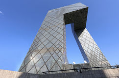 CBD-Beijing CCTV Tower Royalty Free Stock Photos