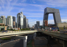 CBD-Beijing city Economic center,china Royalty Free Stock Image