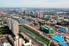 CBD-Beijing city Economic centers Stock Images