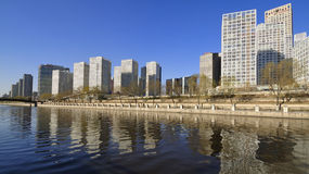 CBD-Beijing city Economic centers Royalty Free Stock Photography