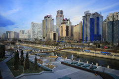 CBD-Beijing city Economic centers Stock Photo