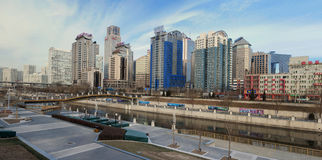 CBD-Beijing city Economic centers Stock Photos