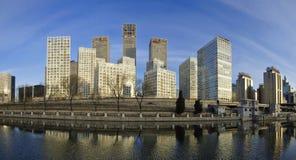 CBD-Beijing city Economic centers Stock Photography