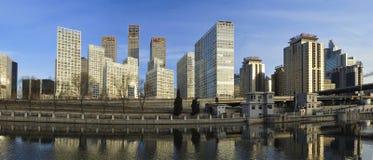 CBD-Beijing city Economic centers Royalty Free Stock Image