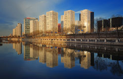CBD-Beijing city Economic centers Stock Image