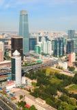 CBD-Beijing city Economic centers Stock Image